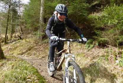 Dumfries and Galloway mountain biking weekend1