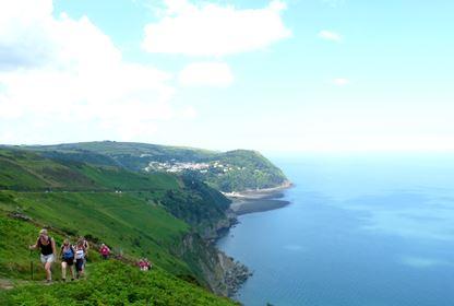 Walking Weekend Selworthy, Exmoor and Somerset Coast11