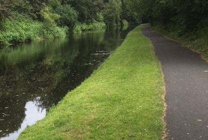 Spen Valley Greenway Canal Walk