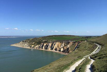 Isle of Wight Needles Coastline