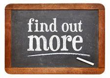 findoutmoreblackboardsignwhitechalktextvintageslate56607727