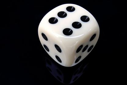 six sided die