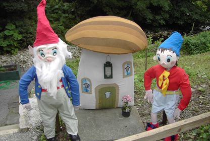Kettlewell Scarecrows - Big Ears and Noddy
