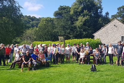 Dovedale Group Photo - fun weekends away with Spice Manchester