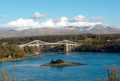 Generic Anglesey Menai Bridge Snowdonia