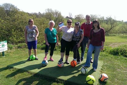 Footgolf group