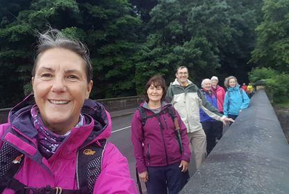 Social Distant Walk Damflask Reservoir Sheffield
