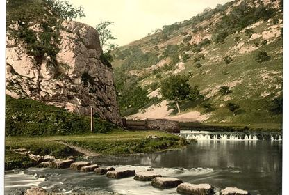Dovedale, steppingstones,