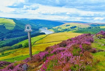 View of Derwent Valley from Derwent Edge