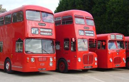 midland red busses