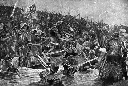 The Battle of Towton by Richard Caton Woodville