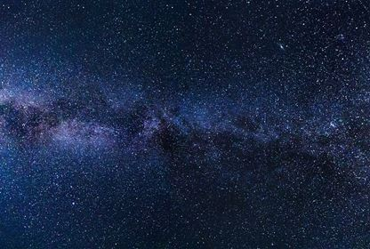 milky way stars night sky