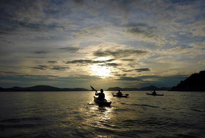 Kayaking Sipan island (1)
