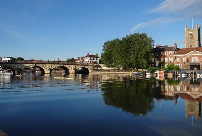 henley bridge river front