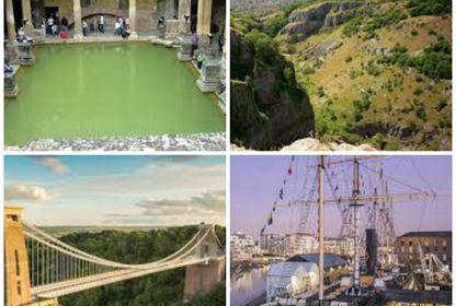 Bristol NY collage
