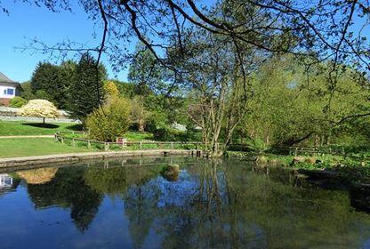 Golden Acre Park Leeds Pond
