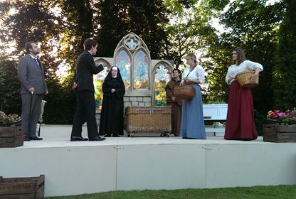Outdoor Theatre Chapterhouse at Birstall