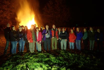 Bonfire at Hornby Laithe