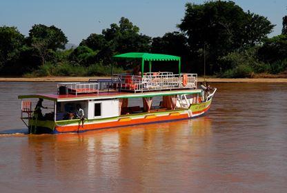 Tsiribihina River  Boat